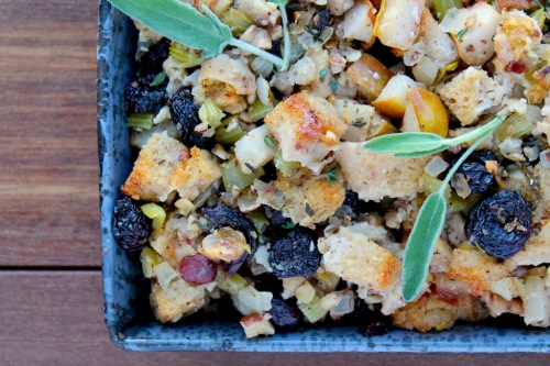 Pear stuffing